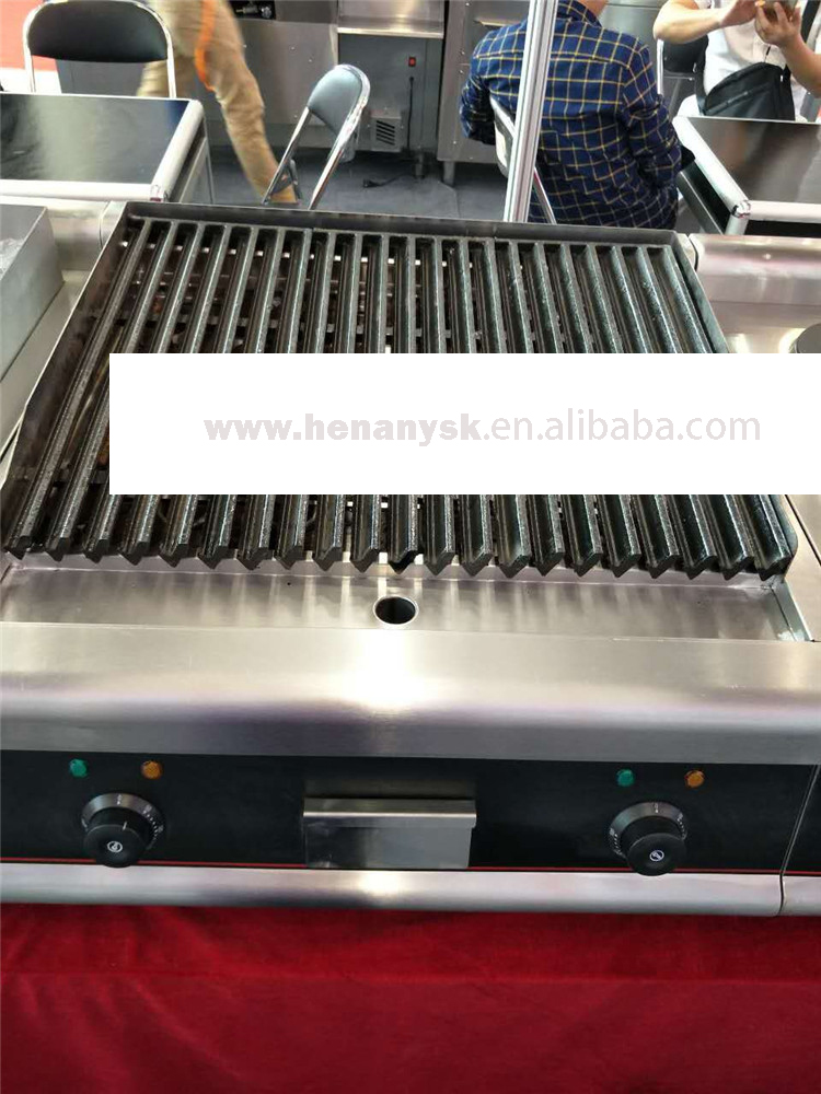 High Quality Electric Lava Rock Broiler Desk Top Electric Grill Broiler Electric Lava Rock Broiler