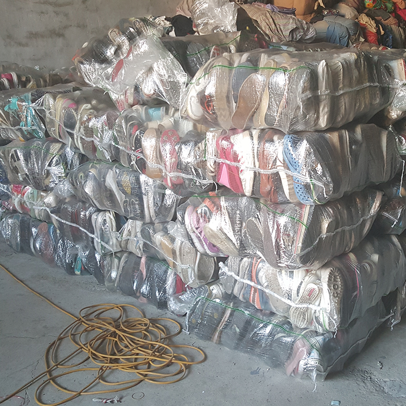 All types comfortable second hand shoes mixed used shoes in bales 25 kg for children