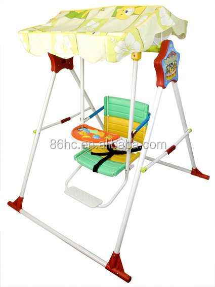 China manufacture baby music swing garden swing, outdoor swing chair for kids