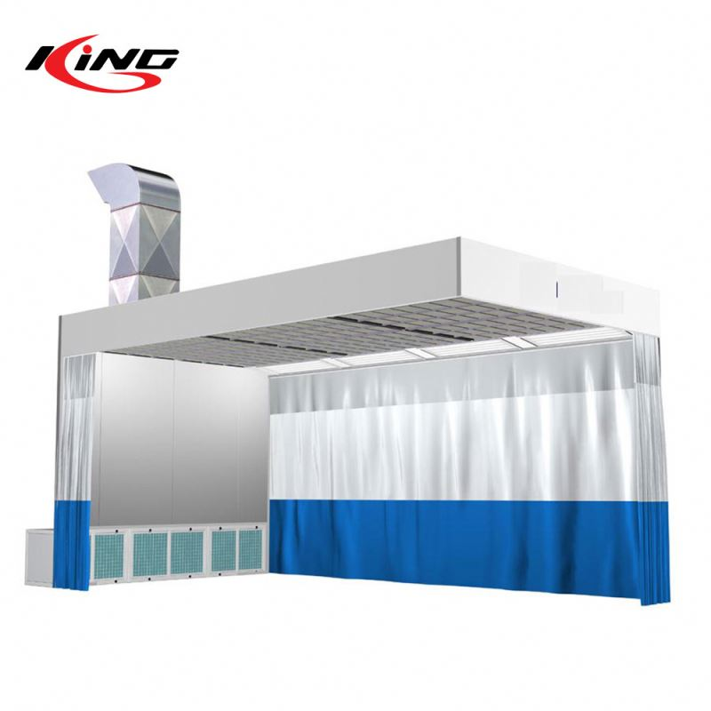 KX-PS3200D Cheap Auto Car Body Paint Prep Station Spray Booth