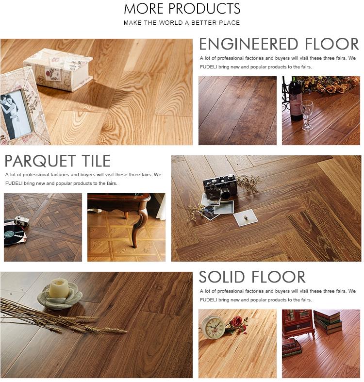 El hermoso diseño venta directa de fábrica de china al por mayor compuesto de suelos de madera.