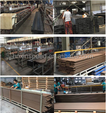 Factory Price WPC Composite Decking WPC Decking WPC Laminate Flooring Anti-UV Outdoor Decking