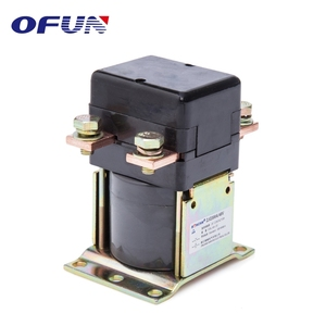OFUN Factory Price Single Pole Single Phase 300A Dc Contactor 48V