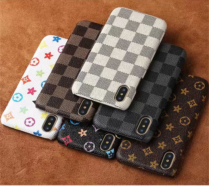 New fashion impermeabile plaid cuoio phone case cover posteriore per iphone caso di X