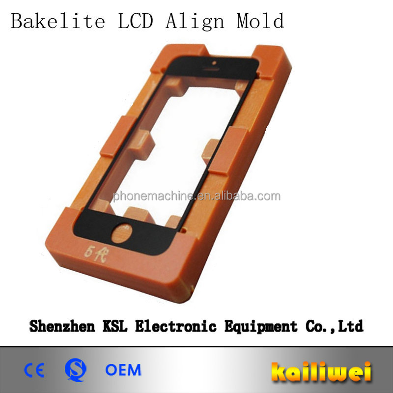 Wholesale Mobile Phone Bakelite LCD Touch Screen Glass Align Mold For laying Glass
