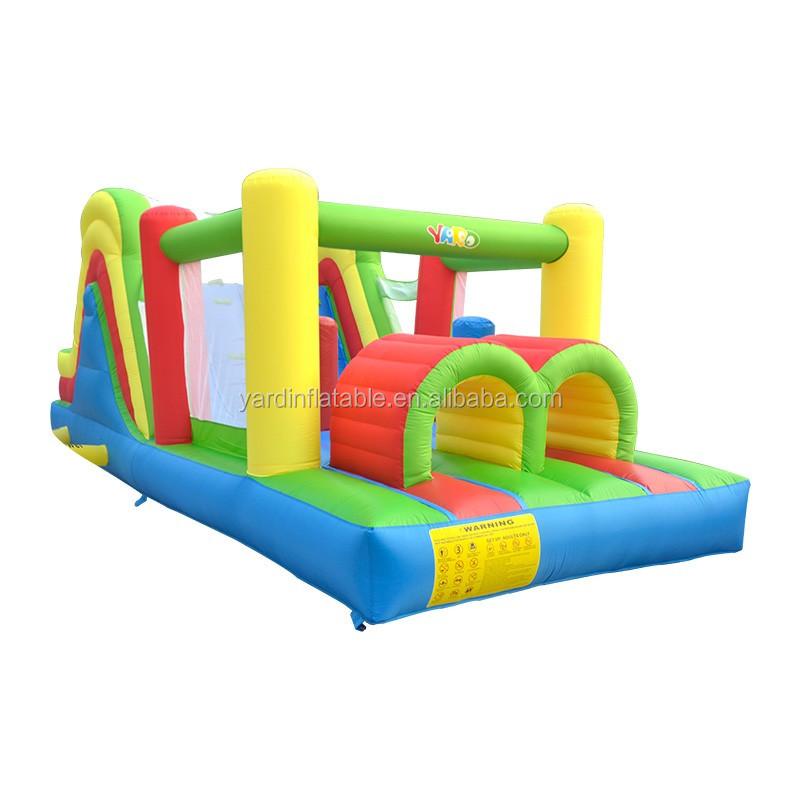 YARD <strong>Inflatable</strong> 6 In 1 Kids Jeux Gonflables Obstacle Course Bouncy Castle Combo