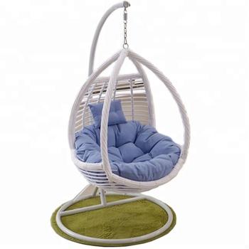 Round Rattan Bird Nest Balcony Adult Cheap Outdoor Indoor Metal