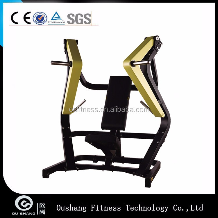 Oushang OS-A006 Iso-Lateral Wide Chest Press Platte geladen Maschine Fitnessgeräte kommerzielle Fitness