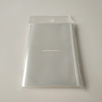 2 Mil Crystal Clear Polyproplene Post Card Sleeves for Comic Book