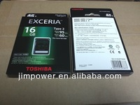 TOSHIBA SD UHS Exceria Type 2 (95R / 60W) 16GB memory card