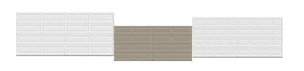 Automatic remote control panel garage door supplier