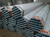 Threading Galvanized Pipe With PVC Cap
