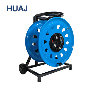 W-C4A 320mm Best service OEM 380V Series Waterproof Steel Trolley Cable Reel