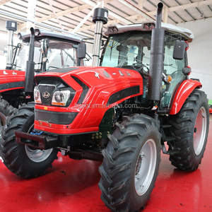 reverse camera 180hp farm wheel tractor 4wd with cabin