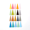 DIY Creative Solid Color Triangle Jewellery Earrings Charm Findings And Components