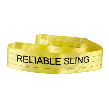 Polyester Endless Woven Flat Belt For Cargo Lifting