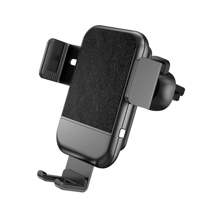 Wholesale OEM Automatic Gravity QI wireless car air vent mount holder 10W wireless charging car mount