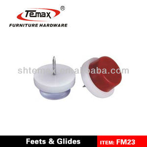 FM23 Furniture Plastic Nylon Chair Glides