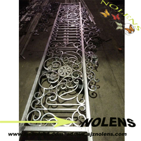 House Decor Factory Prices Forged Iron Balcony Railings Designs