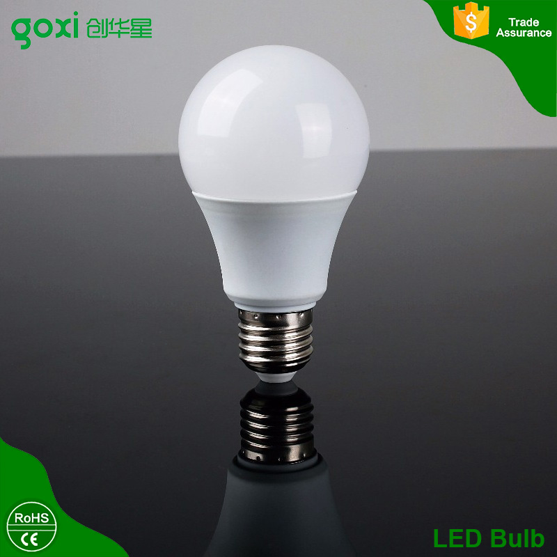 Factory Direct Sale Plastic With Aluminum Led Bulb,High Lumens <strong>e27</strong> b22 Led Bulb Lamp Housing, Hot 3w-12w Led Bulb <strong>e27</strong>