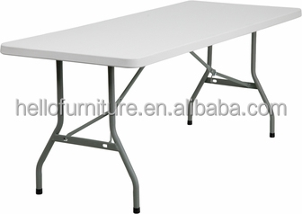 183cm length useful outdoor plastic folding tables and chairs for event