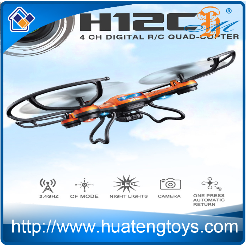 Newest JJRC H12C Remote Control Helicopter With Camera DFD F181 Support Headless CF Mode Auto Return UFO Drone VS Dji Phantom