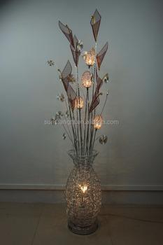 newest e5f49 4c488 Fancy High Quality Flower Vase Modern Floor Lamp Standing Aluminum Lamp /  Light - Buy High Quality Floor Lamp,Modern Floor Lamp,Aluminium Lamp  Product ...