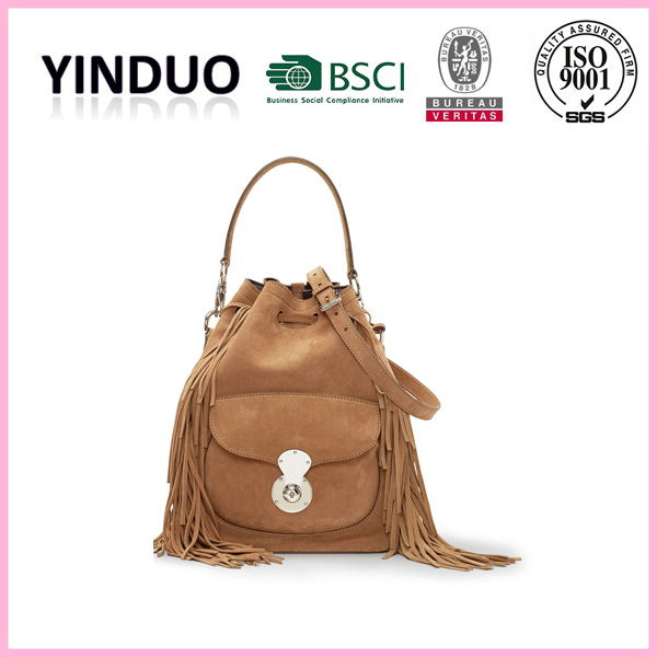 Hot sale lady custom designer tote handbag purse sets fashion 2016 trend luxury branded canvas bag genuine leather handbag women