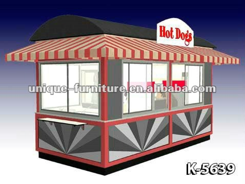 8x15ft RMU Hotdog House Design Outdoor Food Kiosk