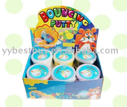 super light bouncing putty/clay toy set