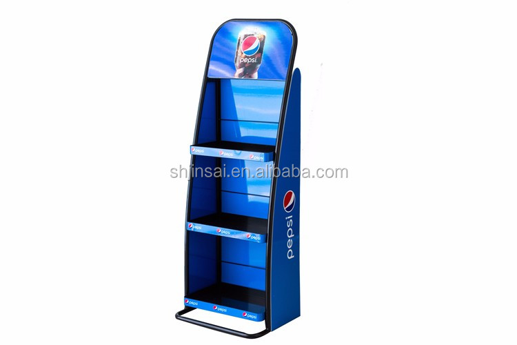 Food Portable Display Stand Potato Chips Food Display Rack