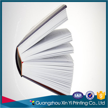 cheap flexi bound thick book hardcover books printing with uv and