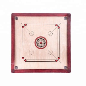 Jumbo Carrom Board Game Classic Strike And Pocket Table Game