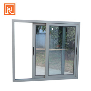 Beautiful anti noise glass cabinet sliding door mechanism