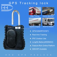 heavy duty padlock nfc gps bolt lock for cargo container door usage