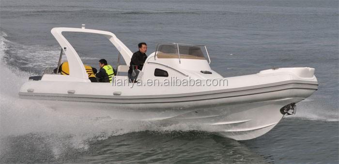Liya 27ft chine semi rigide bateau pneumatique moteur yachts vendre fabri - Pneumatique semi rigide ...
