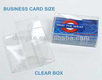Business card size clear boxsmall clear box buy clear business business card size clear boxsmall clear box reheart Gallery