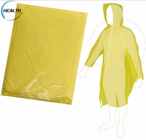 Adult Disposable Raincoat,Waterproof Rain Jacket,Rain Poncho With Hat Cap
