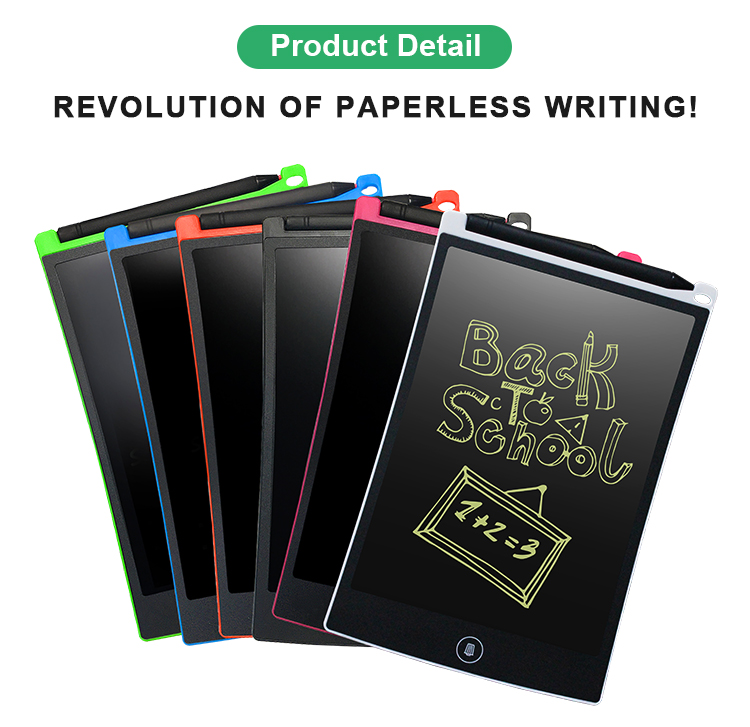 Newyes Hot Selling 8.5 Inch Dry Erase Writing Board Lcd Drawing Handwriting Tablet For Office