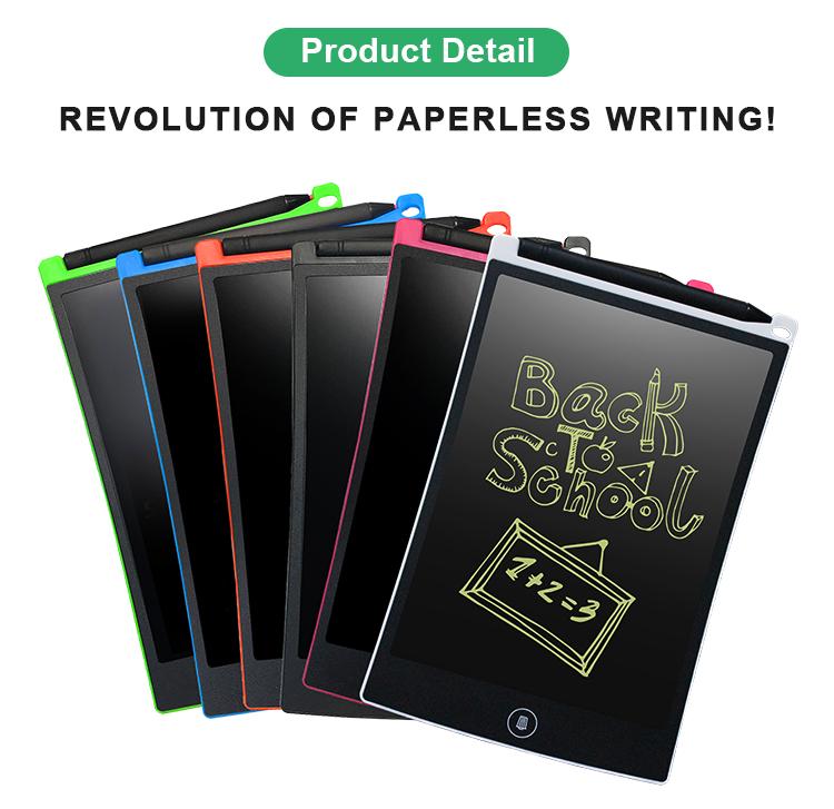 Newyes 8.5 Inç Smartpad Elektronik Memo Pad Yeniden Kullanılabilir Kağıtsız LCD yazma tableti Pad kilit anahtarı