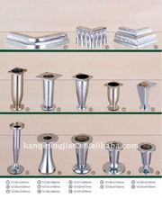 aluminum furniture sofa leg