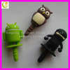 Anti dust plug for smartphone earphone dust plug and 3.5mm headphone jack dust plug