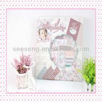 Paper Scrapbook Album Kit-Baby Girl