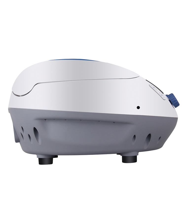 Powerful centrifugal force of 15100g high speed Micro centrifuge with timer 10 store program of a centrifuge