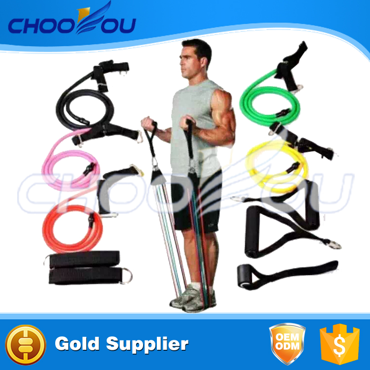 New Fitness Equipment/Double Dipped Resistance Bands