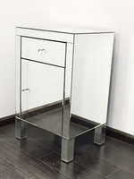 Excellent Quality Furniture Stores Online For Dress Table Mirrored 1 drawer Cabinet Living Room/Indoor Decoration Ideas