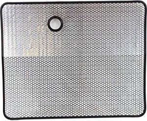 Crash Parts Plus Direct Fit Black Grille Screen for 1987-1995 Jeep Wrangler