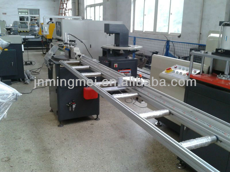 aluminium profile automatic single head cutting machine for aluminium door window making