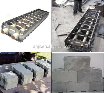 Clc foam concrete interlock molds buy clc foam concrete for Concrete foam block
