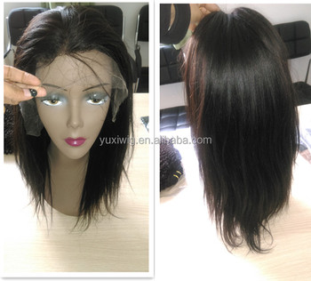 100% human remy full lace wig with baby hair in stock. lace front wig.